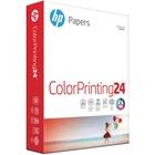 """HP Inkjet Print Inkjet Paper - Letter - 8 1/2"""" x 11"""" - 24 lb Basis Weight - 500 / Ream - White"""
