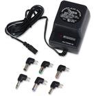 Tatco Universal AC/DC Adapter - 110 V AC, 220 V AC Input - 500 mA Output - Black