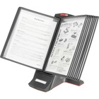 """Master Products view Desktop Catalog Stand - Desktop - 12 Panels - Support Letter 8.50"""" (215.90 mm) x 11"""" (279.40 mm), A4 8.27"""" (210 mm) x 11.69"""" (297 mm) Media - Expandable, Removable Sleeve - 9.50"""" (241.30 mm) Height x 14.50"""" (368.30 mm) Width x 12"""" (30"""