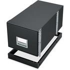 Bankers Box 12602 Floor Mount for Storage Box - Black - Metal - Black