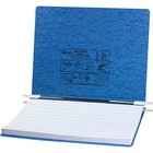 """Acco PRESSTEX Unburst Sheet Covers - 6"""" Binder Capacity - Fanfold - 11"""" x 14 7/8"""" Sheet Size - Light Blue - Recycled - Retractable Filing Hooks, Hanging System, Moisture Resistant, Water Resistant - 1 Each"""