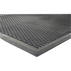 """Genuine Joe Clean Step Scraper Floor Mats - Outside Entrance, Outdoor - 72"""" (1828.80 mm) Length x 48"""" (1219.20 mm) Width - Rubber - Black"""