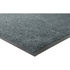 "Genuine Joe Platinum Series Indoor Wiper Mats - Indoor - 66"" (1676.40 mm) Length x 43.50"" (1104.90 mm) Width - Nylon - Gray"