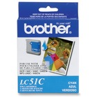 Brother Original Ink Cartridge - Inkjet - 400 Pages - Cyan - 1 Each