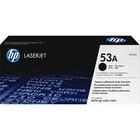 HP 53A (Q7553A) Original Toner Cartridge - Single Pack - Laser - 3000 Pages - Black - 1 Each
