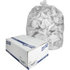 """Genuine Joe High-density Can Liners - Medium Size - 124.92 L - 33"""" (838.20 mm) Width x 40"""" (1016 mm) Length x 0.43 mil (11 Micron) Thickness - High Density - Clear - Resin - 500/Carton - Office Waste, Industrial Trash"""