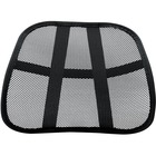 """Fellowes Office Suites Mesh Back Support - Ventilation, Comfortable, Cushioned - 17.75"""" (450.85 mm) x 5"""" (127 mm) x 15"""" (381 mm) - Black"""
