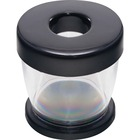 Gem Office Products Paper Clip Dispenser - Plastic - 1 / Each - Black