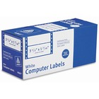 "Avery® Address Label - Permanent Adhesive - 3 1/2"" Width x 1 7/16"" Length - Rectangle - Dot Matrix - White - 5000 / Box"