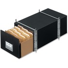 """Bankers Box Staxonsteel File Storage Drawer System - Internal Dimensions: 15"""" (381 mm) Width x 24"""" (609.60 mm) Depth x 10.50"""" (266.70 mm) Height - External Dimensions: 17"""" Width x 25.5"""" Depth x 11.1"""" Height - Media Size Supported: Legal - Interlocking Clo"""