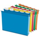 "Pendaflex Ready-Tab Assorted Hanging Folders - Letter - 8 1/2"" x 11"" Sheet Size - 2"" Expansion - Ring Fastener - 2"" Fastener Capacity for Folder - Pressboard - Assorted - Recycled - 20 / Box"