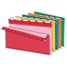 "Pendaflex Ready-Tab Extra Capacity Reinforced Hanging Folder with Lift Tab - 2"" Folder Capacity - Legal - 8 1/2"" x 14"" Sheet Size - 2"" Expansion - 1/5 Tab Cut - Pressboard - Assorted - 2.72 kg - Recycled - 20 / Box"