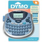 "Dymo LT-100T LetraTag Plus Labelmaker - Direct Thermal - Label, Tape - 0.50"" (12.70 mm) x 13 ft (3962.40 mm), 0.50"" (12.70 mm) x 78"" (1981.20 mm) - Battery - 4 Batteries Supported - AA - Alkaline - Silver - Handheld - QWERTY, AZERTY, Auto Power Off, Date"