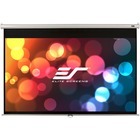 """Elite Screens Manual M150XWV2 150"""" Manual Projection Screen - Front Projection - 4:3 - MaxWhite - 90"""" x 120"""" - 1.1 Gain - Wall/Ceiling Mount"""
