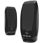 Logitech S-150 2.0 Speaker System - 1.2 W RMS - Black - 90 Hz to 20 kHz - USB