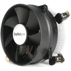 StarTech.com CPU Cooler Fan - Processor cooler - ( Socket 775 ) - aluminum - black - 95mm - 95mm - 2600rpm