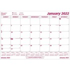 "Brownline Monthly Desk Calendar Refill - Yes - Monthly - 1 Year - January 2020 till December 2020 - 1 Month Single Page Layout - 22"" x 17"" Sheet Size - Wall Mountable, Desk Pad - White - Reference Calendar - 1 Each"