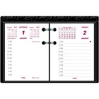 "Brownline Ideal C1S Calendar Pad Refill - Daily - 1 Year - January 2020 till December 2020 - 7:00 AM to 5:00 PM - 1 Day Double Page Layout - 3 3/4"" x 2 7/8"" Sheet Size - White - Paper - Appointment Schedule, Reference Calendar - 1 Each"