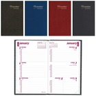"""Brownline Weekly Pocket Appointment Book - Weekly, Daily - 1 Year - January 2021 till December 2021 - 9:00 AM to 5:00 PM - 1 Week Double Page Layout - 2 7/8"""" x 4 3/4"""" Sheet Size - Desktop - Assorted - Phone Directory, Flexible, Tear-off, Address Directory"""