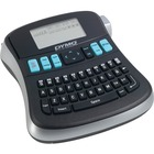 Dymo LabelManager 210D Label Maker - Thermal Transfer - Tape - Battery, Power Adapter - 6 Batteries Supported - AA - Alkaline - Silver