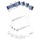 """Safco Suggestion Box Card Refills - 3 1/2"""" x 8"""" Sheet Size - White - White Sheet(s) - 25 / Pack"""