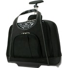 """Kensington Contour Carrying Case (Roller) for 15.4"""" Notebook - Onyx - Water Resistant, Impact Resistant Interior, Scuff Resistant - Quilt - Handle - 13.50"""" (342.90 mm) Height x 18"""" (457.20 mm) Width x 9"""" (228.60 mm) Depth"""