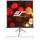 "Elite Screens Tripod T84UWV1 84"" Projection Screen - Front Projection - 4:3 - MaxWhite - 50"" x 67"" - 1.1 Gain - Floor Mount"