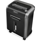 "Fellowes 79Ci 100% Jam Proof Cross-Cut Shredder - Cross Cut - 14 Per Pass - for shredding Paper, Staples, Credit Card, Paper Clip, CD, DVD - 0.2"" x 1.5"" Shred Size - Level 3 - 9"" Throat - 20 Minute Run Time - 30 Minute Cool Down Time - 22.71 L Wastebin Ca"