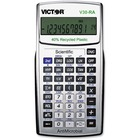 Victor V30RA Scientific Calculator - Environmentally Friendly, Hard Shell Cover, Antimicrobial - Battery Powered - Black - Plastic - 1 Each
