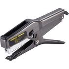 "Bostitch B8 Heavy-Duty Plier Stapler - 45 Sheets Capacity - 210 Staple Capacity - Full Strip - 1/4"", 3/8"" Staple Size - Black"