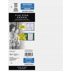 """Hilroy Ruled Filler Paper - 200 Sheets - 24 lb Basis Weight - 10 7/8"""" x 8 3/8"""" - White Paper - Heavyweight - 200 / Pack"""
