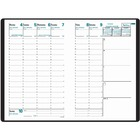 """Quo Vadis The Minister Agenda Planning Diary - Business - Weekly - 1.1 Year - December 2019 till December 2020 - 8:00 AM to 9:00 PM - 1 Week Double Page Layout - 6 1/4"""" x 9 1/2"""" Sheet Size - Sewn - Binder - Bright White - Vinyl - Appointment Schedule, Not"""