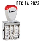 Trodat 12 Year Manual Line Dater Stamp - Date Stamp - 1 Each