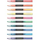 Zebra Pen Zazzle Fluorescent Highlighter - Chisel Marker Point Style - Fluorescent Assorted Water Based Ink - 10 / Set