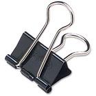 "Acco Fold Back Binder Clip - 1"" (25.40 mm) Width - 12 / Box - Steel"
