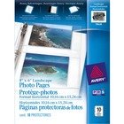 "Avery® Horizontal Photo Page - 4"" (101.60 mm) Width x 6"" (152.40 mm) Length"