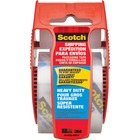 """3M Scotch High Performance Mailing Tape with Dispenser - 2"""" (50.8 mm) Width x 22.1 yd (20.2 m) Length - Rubber Resin - Moisture Resistant - Dispenser Included - 1 Each - Clear"""