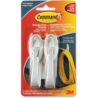 3M Cable Bundler with Command Adhesive - White - 2 Pack