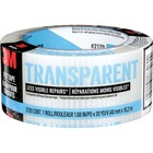 "3M Scotch Transparent Duct Tape - 1.88"" (47.6 mm) Width x 20 yd (18.3 m) Length - 1 Each - Clear"