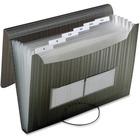 Pendaflex Expandable File - 7 Pocket(s) - Poly - Smoke - 1 Each