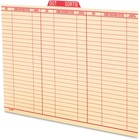 Pendaflex Oxford Vertical Out Guide - Legal - Red Tab(s) - 100 / Box