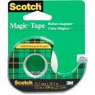 "3M Scotch Magic Transparent Tape - 36 yd (32.9 m) Length x 0.50"" (12.7 mm) Width - 1"" Core - 1 Each"