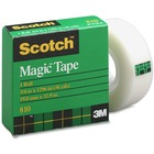 "3M Scotch Magic Transparent Tape - 36 yd (32.9 m) Length x 0.75"" (19 mm) Width - 1"" Core - 1 Each"
