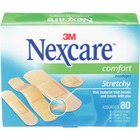 "3M Nexcare Comfort Strips Bandage - 0.98"" (25 mm) x 2.99"" (76 mm) - 80/Box"