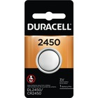 Duracell DL2450BPK Coin Cell General Purpose Battery - For Multipurpose - 3 V DC - Lithium Manganese Dioxide (Li-MnO2) - 1 Each