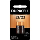Duracell MN21B2PK Alkaline Security Devices Battery - For Security Device - 12 V DC - Alkaline - 2 / Pack