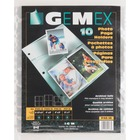 "Gemex Photo Page Holder - 6 Capacity - 4"" (101.60 mm) Width x 6"" (152.40 mm) Length"