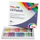 Pentel Arts Oil Pastels - Assorted - 36 / Set