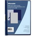 "Winnable Side Lock Report Cover - Letter - 8 1/2"" x 11"" Sheet Size - 30 Sheet Capacity - Blue - 1 Each"