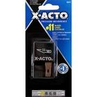 Elmer's X-ACTO No. 11 Fine Point Blades Dispenser - #11 - 15 / Pack - Black